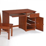 Night & Day Spices Bedroom Computer Desk; Cherry