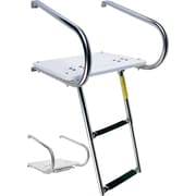 Garelick MFG. Company 1.6 ft Steel I/O Swim Platform Step Ladder