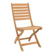 HiTeak Furniture Basic Folding Patio Dining Chair
