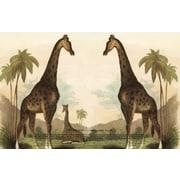 Belle Banquet Giraffe Placemat (Set of 6)