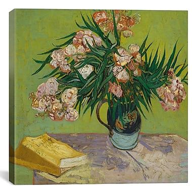 iCanvas 'Oleander' by Vincent van Gogh Painting Print on Canvas; 18'' H x 18'' W x 0.75'' D