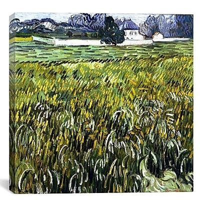 iCanvas 'Auvers at Auvers' by Vincent Van Gogh Painting Print on Canvas; 26'' H x 26'' W x 1.5'' D
