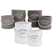 Selectives Jardin 6-Piece Ceramic Pot Planter Set