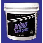 Weber Art Prima Black Gesso Gallon
