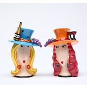CosmosGifts Let's Have Some Wine Salt and Pepper Set