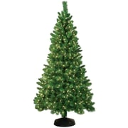 General Foam Plastics Jordan 7.5' Green Artificial Christmas Tree w/ 550 Clear Lights