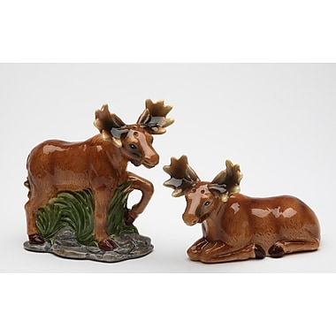 CosmosGifts Moose Salt and Pepper Set