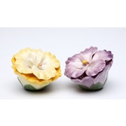 CosmosGifts Pansy Salt and Pepper Set