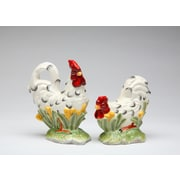 CosmosGifts Rooster Salt and Pepper Set
