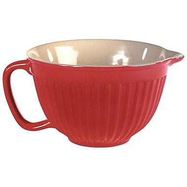 Omniware Simsbury Batter Bowl; Red