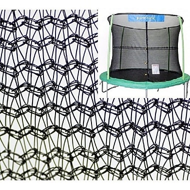 Jumpking 14' Trampoline Net Using 4 Poles