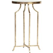 Knox & Harrison End Table; Gold Leaf