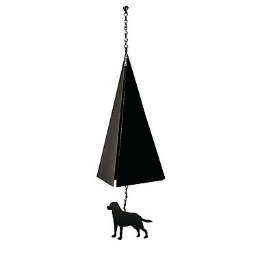 North Country Wind Bells Original and Authentic Maine Bar Harbor Wind Bell w/ Labrador Windcatcher