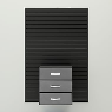 Flow Wall 26'' H x 24'' W x 16'' D Complete 3 Drawer Cabinet