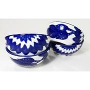 Le Souk Ceramique Jinane Deep Sauce / Ice Cream Bowl (Set of 4)