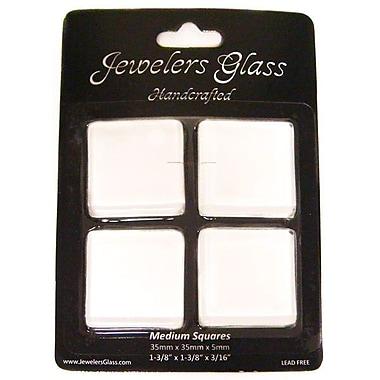 Wholesalers USA 4 Piece Medium Squares Jeweler's Glass Set