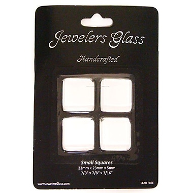 Wholesalers USA 4 Piece Small Squares Jeweler's Glass Set