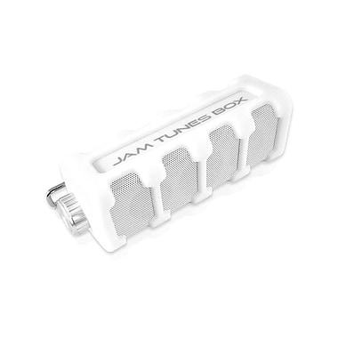 Pyle – Haut-parleur Bluetooth portatif étanche et robuste, blanc
