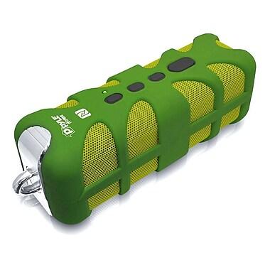 Pyle – Haut-parleur Bluetooth portatif de qualité marine, étanche et robuste, vert