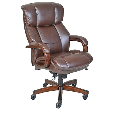 La-Z-Boy Fairmont Big and Tall Executive Chair, Dark Brown