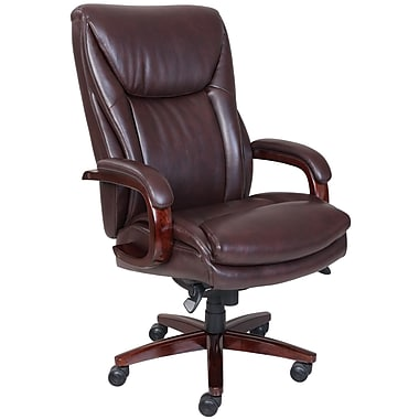 La-Z-Boy – Fauteuil de direction Edmonton Big and Tall, brun foncé
