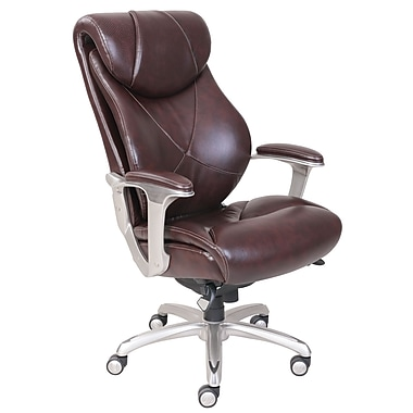 La-Z-Boy Cantania Executive AIRTM Chair, Dark Brown