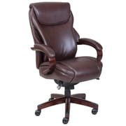 staple office chair. La-Z-Boy Hyland Executive AIR™ Chair, Dark Brown Staple Office Chair W