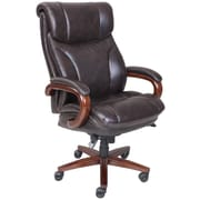 La-Z-Boy – Fauteuil de direction AIRTM Trafford Big and Tall, brun foncé