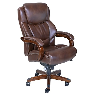 La-Z-Boy Delano Big and Tall Executive Chair, Dark Brown