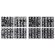 "MasterVision Magnetic Set of Letters, Numbers & Symbols 1"" (CAR0702)"