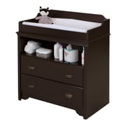 """South Shore Fundy Tide Changing Table, Espresso, 35.5""""(L) x 19.5""""(D) x 39.25""""(H)"""