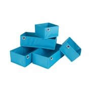 "South Shore Drawer organizers, Blue, 13.25"" (L) x 6.5"" (D) x 4.25"" (H)"