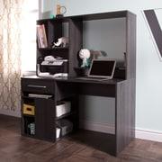"""Bureau de travail pour ordinateur, Chêne gris, Annexe de Meubles South Shore, 48""""L x 22""""D x 57""""H"""