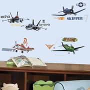 Room Mates Popular Characters 43 Piece Planes Wall Decal
