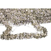 Queens of Christmas Tinsel Garland; Silver