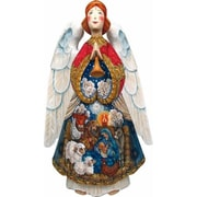 G Debrekht Masterpiece Signature Special Edition Nativity Angels Figurine