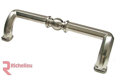 Richelieu 3 7/9'' Center Bar Pull; Brushed Nickel WYF078278019895