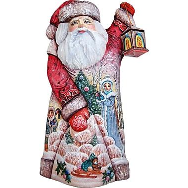 G Debrekht Masterpiece Signature Lamp Lighter Santa Figurine