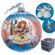 G Debrekht Holiday Limited Edition Nutcracker Fairytale Glass Ball Ornament