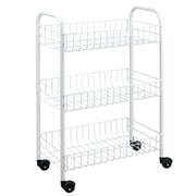 Metaltex 3 Tier Rolling Utility Cart