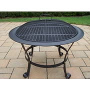 Oakland Living Fire Pits Cast iron Wood Burning Fire pit