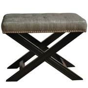 Crestview Fifth Avenue w/ Nailhead Trim Accent Stool