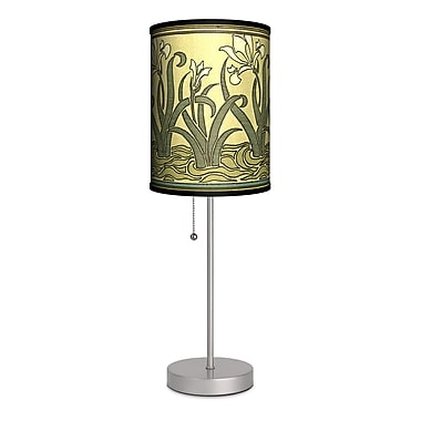 Lamp-In-A-Box Decor Art Lilies 20'' Table Lamp
