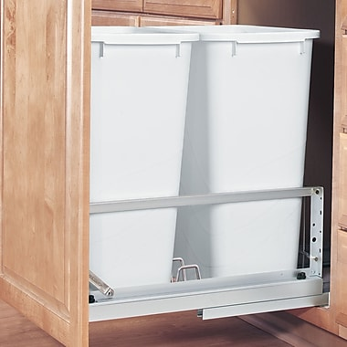 Rev-A-Shelf 22.94'' Double Pull out Trash Can