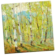 Portfolio Canvas Looking at Spring by Dean Bradshaw Painting Print on Wrapped Canvas