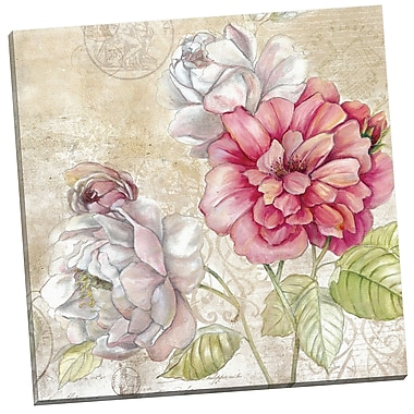 Portfolio Canvas Evening Rose by E. Franklin Painting Print on Wrapped Canvas
