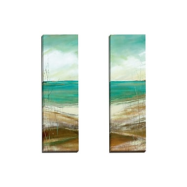 Portfolio Canvas Seafaring I by Carol Robinson 2 Piece Painting Print on Wrapped Canvas Set