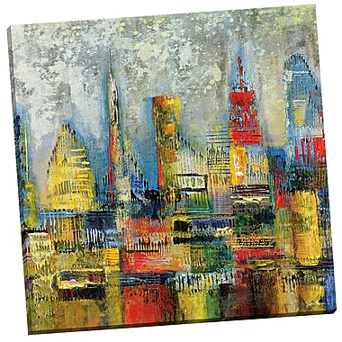 Portfolio Canvas Neon Jungle II by Dominick Painting Print on Wrapped Canvas