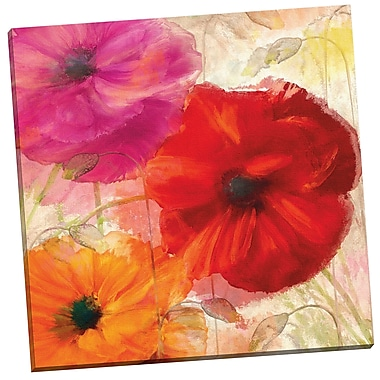 Portfolio Canvas Penchant for Poppies I by Mindy Sommers Painting Print on Wrapped Canvas