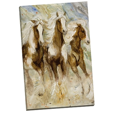 Portfolio Canvas Queens square by Dupre Painting Print on Wrapped Canvas